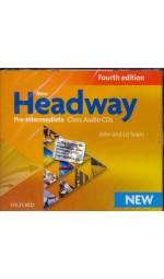 New Headway 4th Edition Pre-Intermediate Class Audio CDs
