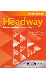 New Headway 4th Edition Pre-Intermediate: Teacher's Book and Resource Disk (книга для учителя)