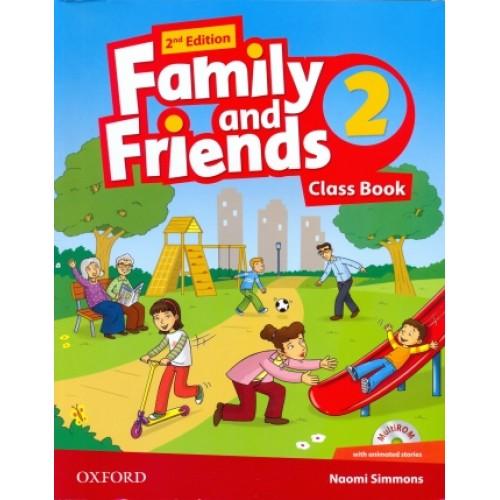 Скачать учебник oxford family and friends 2 бесплатно.