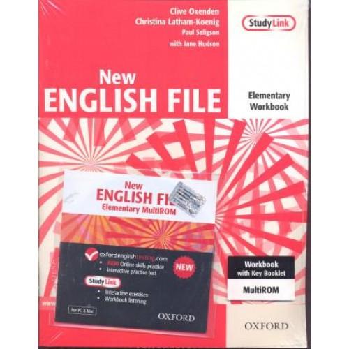 Гдз К Учебнику New English File Elementary