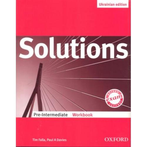 Книга «solutions: pre-intermediate: student's book» tim falla.