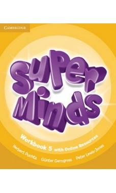 Super Minds 5: Workbook with Online Resources